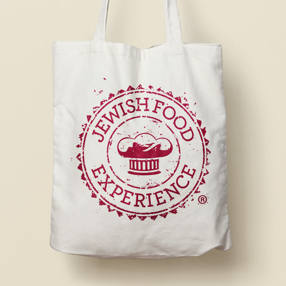 Jewish Food Experience Branding and Website